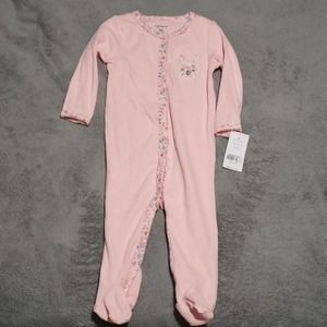 4 for $20 NWT Carter's baby girl pink onesie